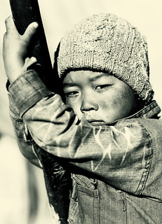 Nomad child in Changtang, Ladakh | by Dietmar Temps