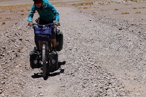 Still gravelly surface near Laguna Morijon | by Pikes On Bikes