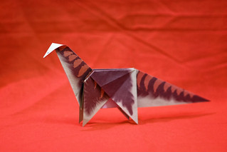 Origami Apatosaurus | by Russell John