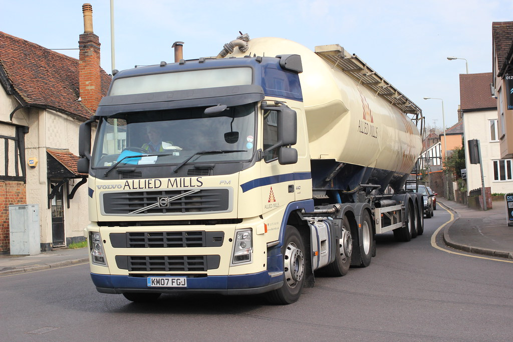 Allied Mills Volvo Goes For The Flour Kmo7fgk