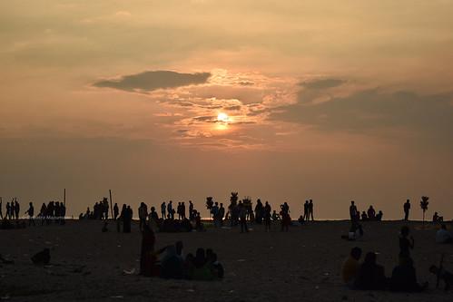 kochi cochin fortkochi fortcochin kerala beach mgbeach mahatmagandhibeach india southindia sunset sun clouds skyporn sky arabiansea sea water d3300 nikon nikkor 1855 1855mm