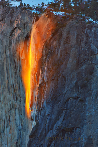 Horsetail Fall - Golden Light | by KP Tripathi (kps-photo.com)