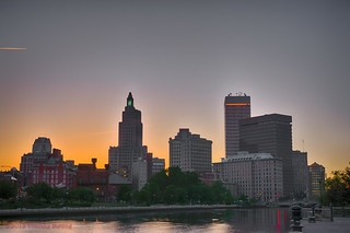 Providence evening skyline | by tburling