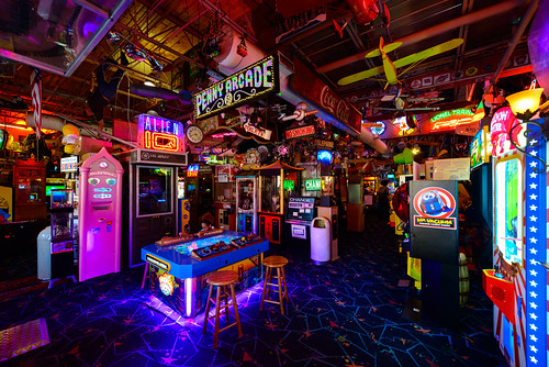 usa heritage museum vintage neon antique michigan arcade games farmingtonhills