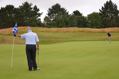 024 - Joe Yorke's long putt on 18 | by Neville Wootton Photography