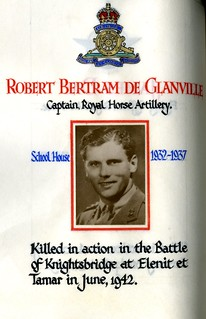 De Glanville, Robert Bertram (1918-1942) | by sherborneschoolarchives