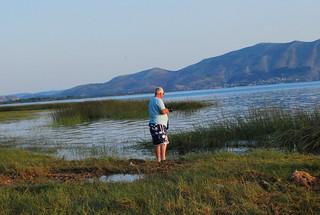Robin at Skondra Lake