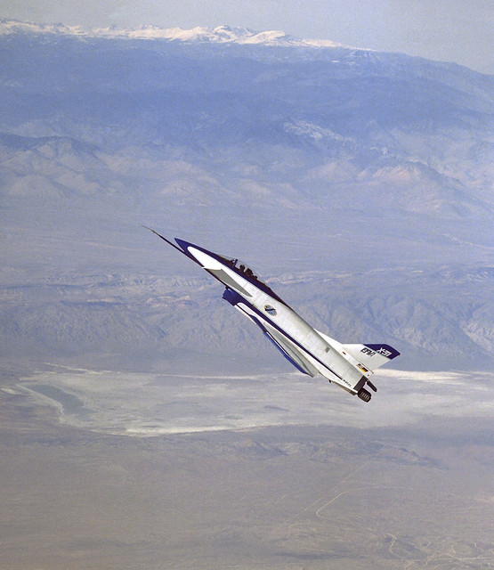 X-31 at High Agle of Attack