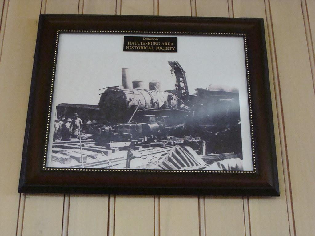 Train Wreck @ Hattiesburg, Ms  Train Station | Photo taken