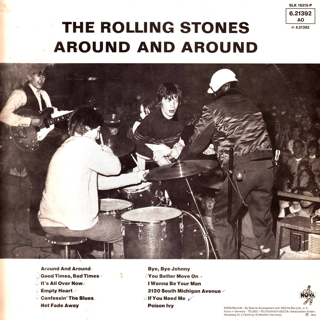 Rolling Stones, The - Around And Around - D - 1964 - Rerel