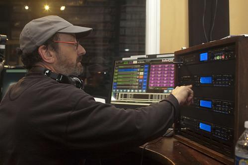 Ron Phillips in the studio.   Photo by L Kasimu Harris.