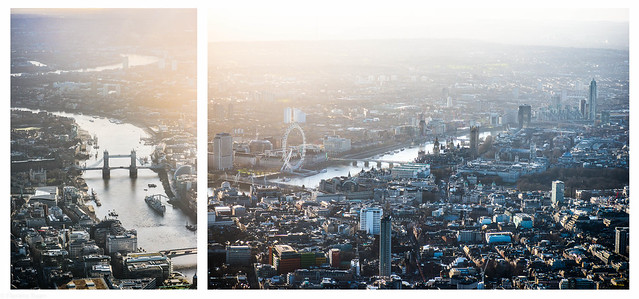 London from the sky