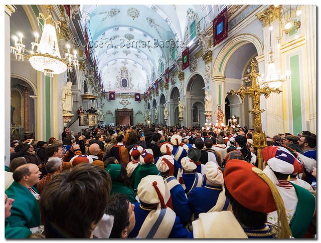 Interior de la Iglesia de Bocairent