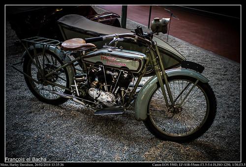 Moto, Harley Davidson | by Francois el Bacha