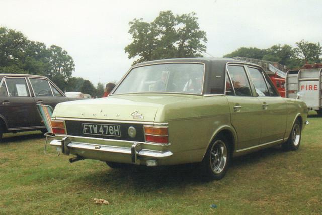 Ford Cortina 1600E - FTW 476H