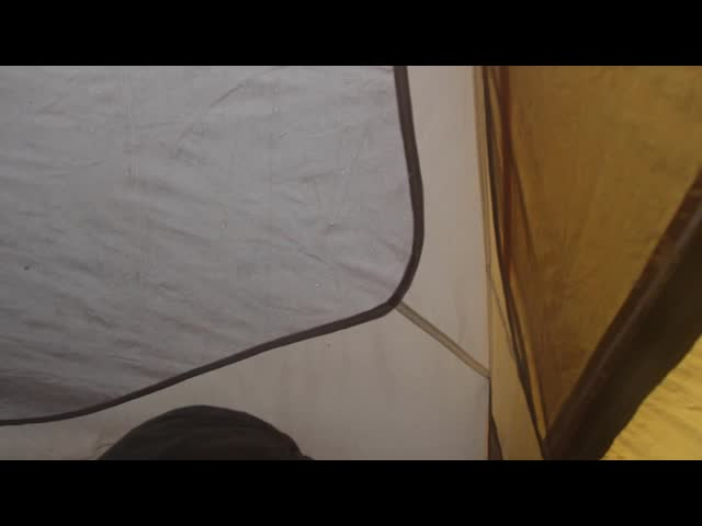 0306 Video of rain and hail from within our tent on the Cottonwood Lakes Trail