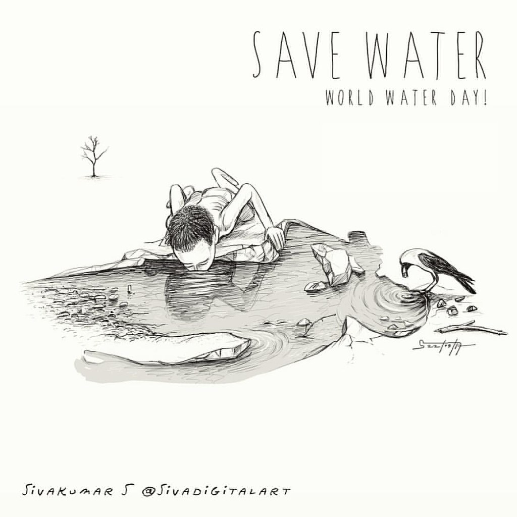 Save water save life save water world water day 2017