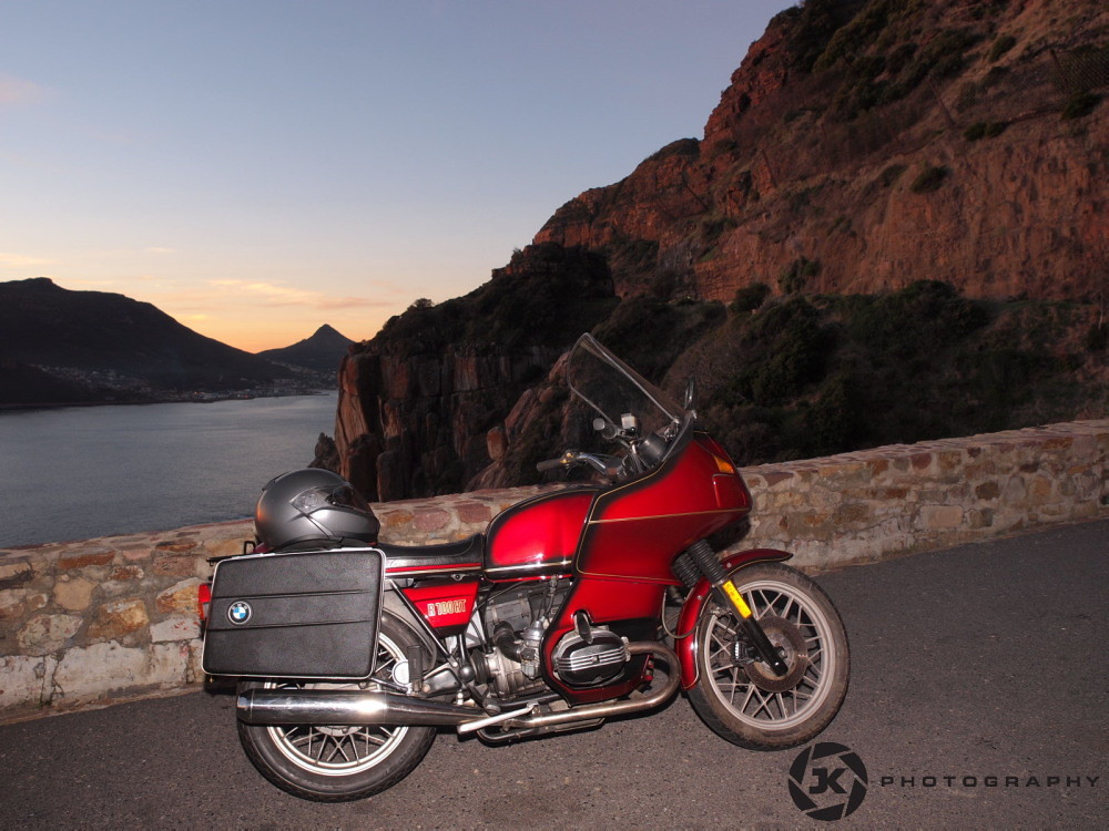 1981 BMW R100RT On The Chapmanspeak Drive | my RT with the r