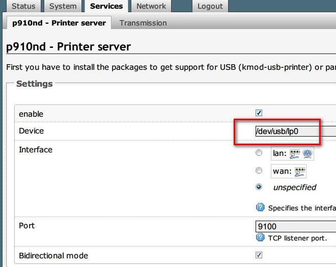 openwrt printer p910nd luci | openwrt printer p910nd luci