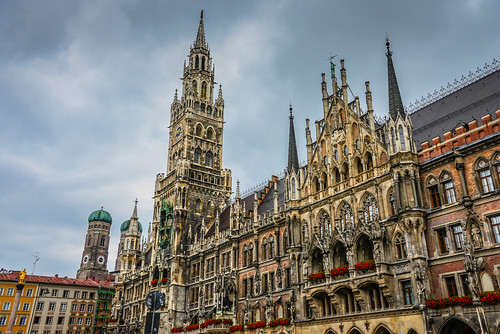 Neues Rathaus and Marienplatz - Munich Germany | by mbell1975