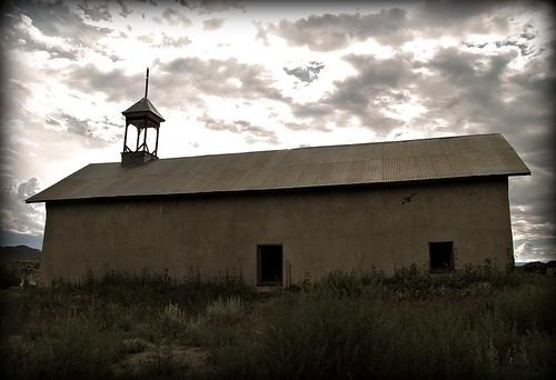church clouds rural colorado adobe enhanced cordovaplaza lasanimalscounty