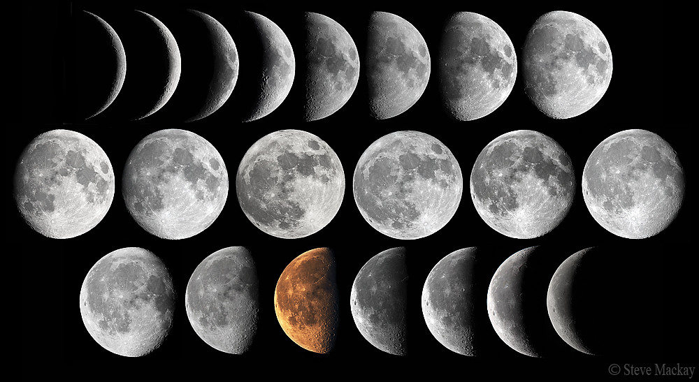 Moon Phases Project | This is my ongoing Moon phase project,… | Flickr