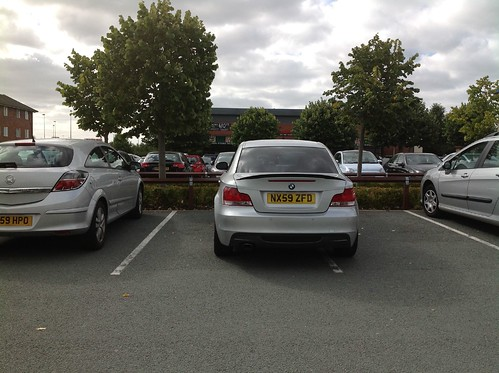 Bad (but tidy) parking NK59ZFD, Lichfield South | by Kevin R Boyd