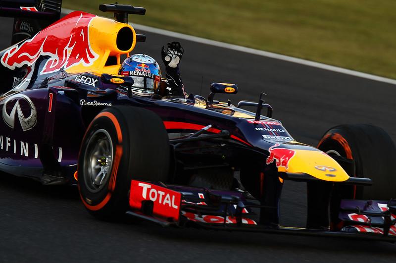 Winning Run!! (Red Bull Racing, #1 Sebastian Vettel)