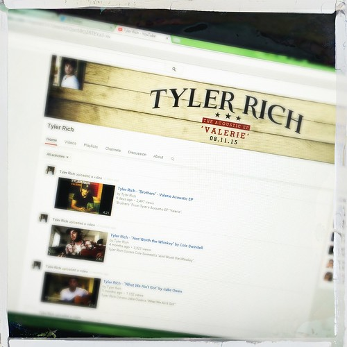 day202: checking out @TylerRichMusic's YouTube page | by walelia