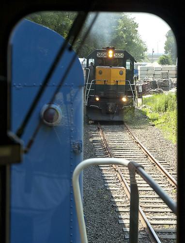 housatonic railroad train emd gp35 danbury ct nx10