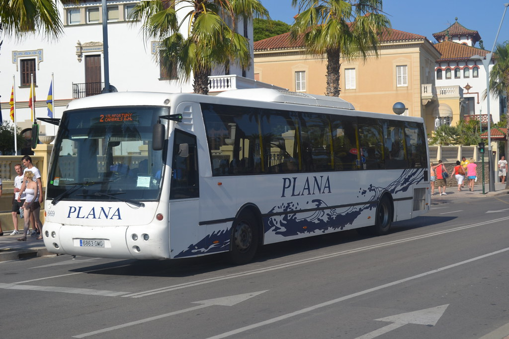 Plana Bus 669 6863 Gmg In Salou 11th June 2013 Chris Flickr