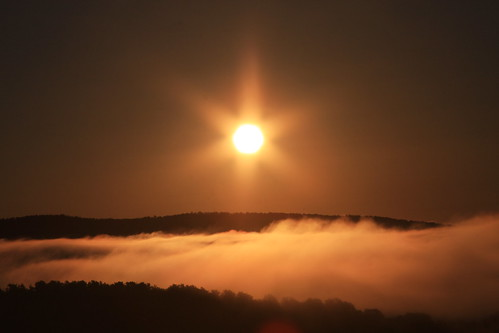 sunrise randolphvtvermontrandolphvermontmountainslandscapefog