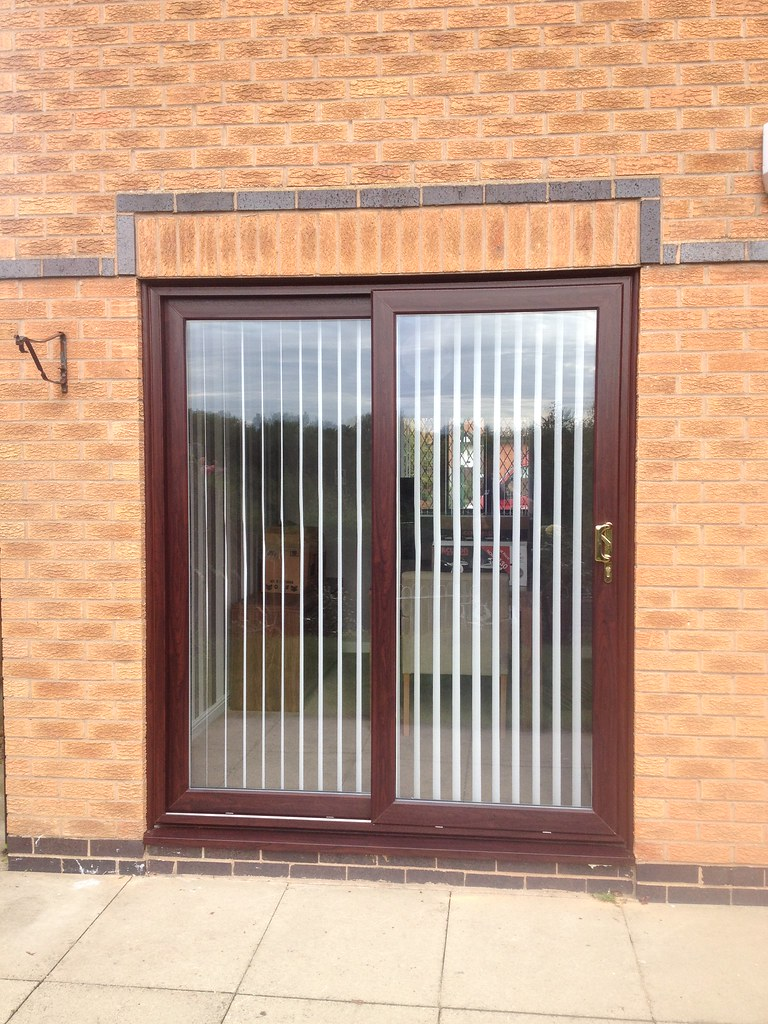 new product 39abb 0e585 Rosewood Sliding Patio Door | Synseal Legend Sliding Patio D ...