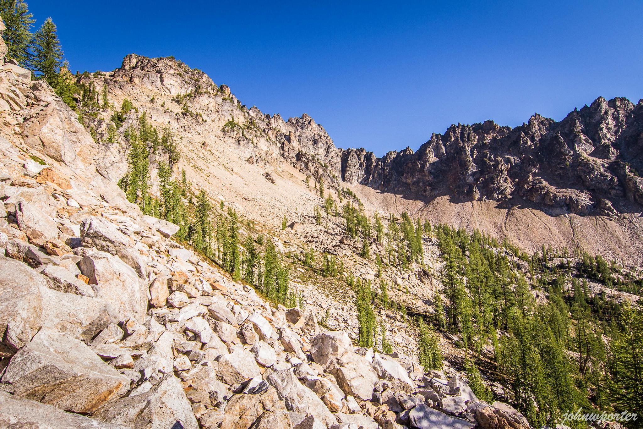 Tupshin Peak at last