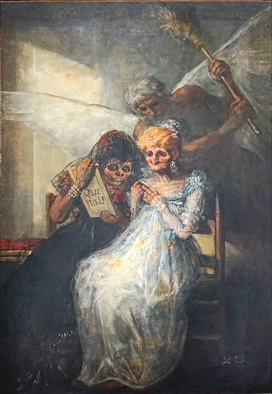 Le Temps de F. Goya (musée des Beaux-Arts de Lille)