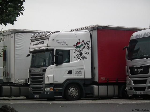 Scania R420 II Speedy 2000 Kft. (H)