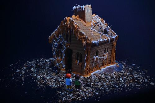 Spooky gingerbread house | by grrlalex