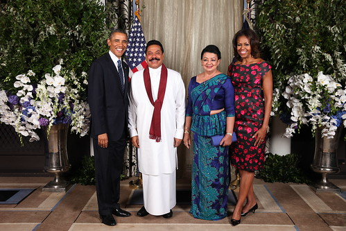 First Citizen's of SL and US | by President Mahinda Rajapaksa