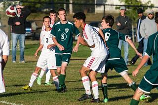 2013-09-30 Duxbury HS BV Soccer @ Whitman-Hanson RHS 0242.jpg   by B Mlry