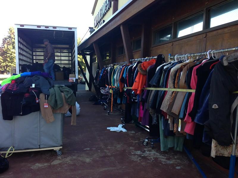 1000 Coats For Hope Coat Drive 2013