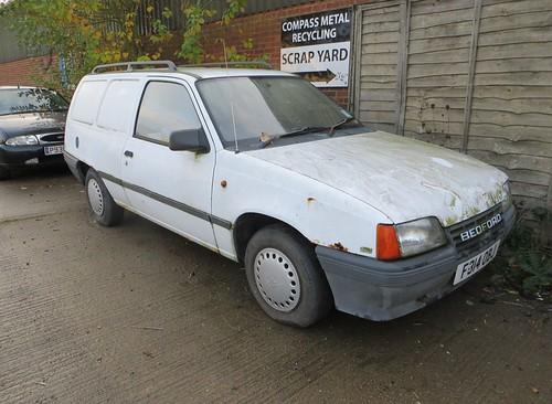 1988 Bedford Astra 1.3 petrol van | by Spottedlaurel