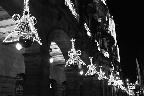 Lumiaria decembrina en Palacio municipal Puebla.