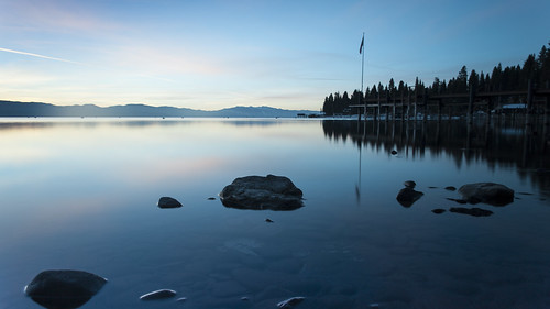 lake black water glass sunrise tahoe