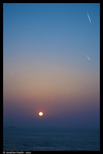 sea sky sun nature sunrise nikon planes jersey channelislands d3000