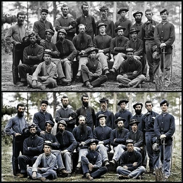 Civil War Color Added