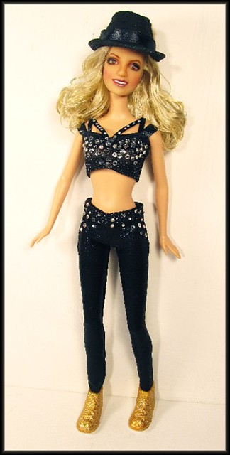 Britney Spears Repaint Doll Barbie And Monster High Custom Flickr