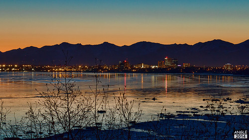 morning mountain building water alaska sunrise canon downtown anchorage 24105 cookinlet chugach ptworonzof 60d