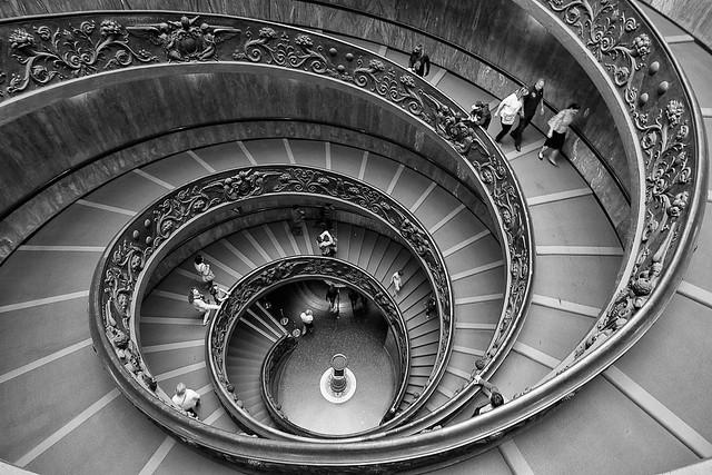 Thanks! 67 000 views, 1053 fav!!! Escalier de Bramante, Vatican (EXPLORE)  http://www.gringerberg.com/ Canon 7D + Tokina 11-16 mm f2.8