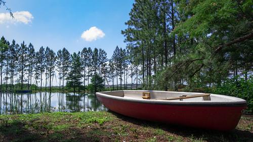 Fischer & Wieser Fredericksburg Das Peach Haus Lake and Boat | by nan palmero