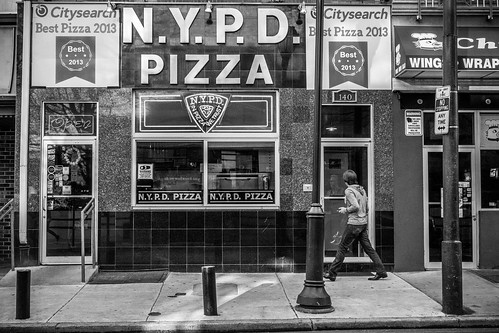 Philadelphia Street Photography - NYPD Pizza | by David K Sutton